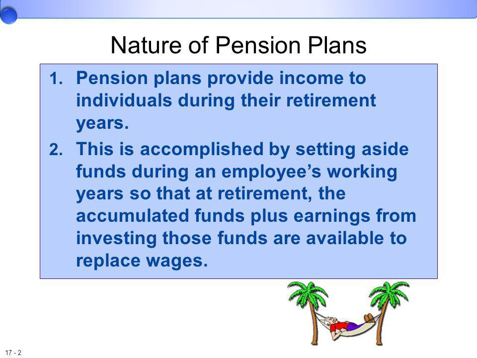 Nature of Pension Plans
