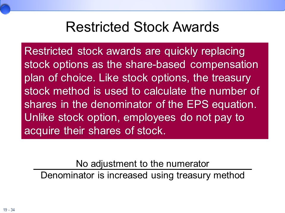 Restricted Stock Awards