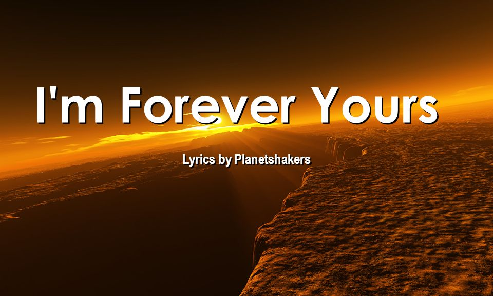 Lyrics by Planetshakers