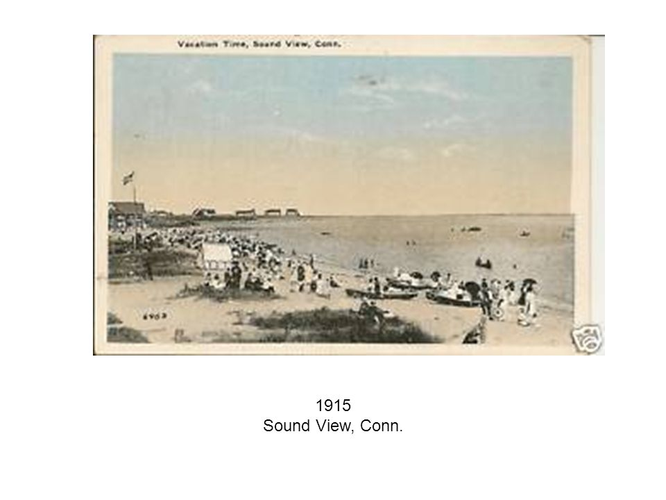 1915 Sound View, Conn.