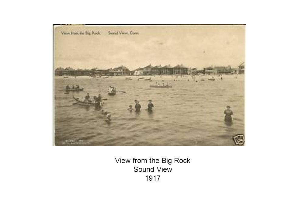 View from the Big Rock Sound View 1917
