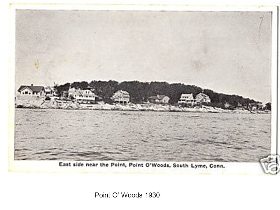 Point O' Woods 1930