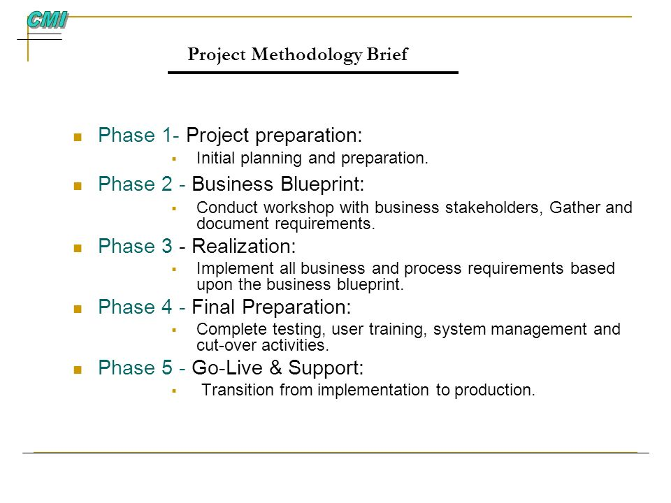 Project Methodology Brief