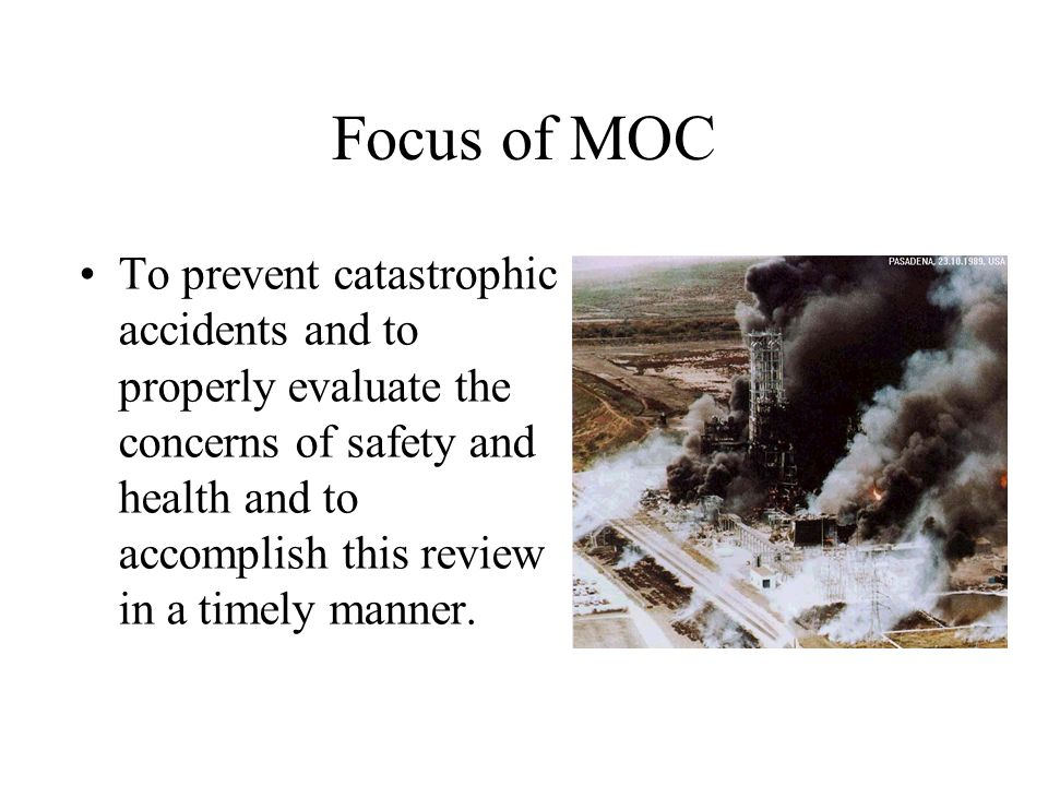Focus of MOC