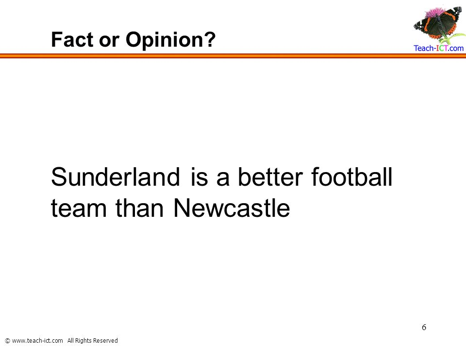 Sunderland is a better football team than Newcastle
