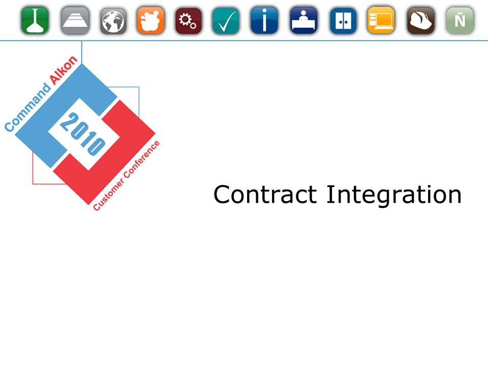 Contract Integration