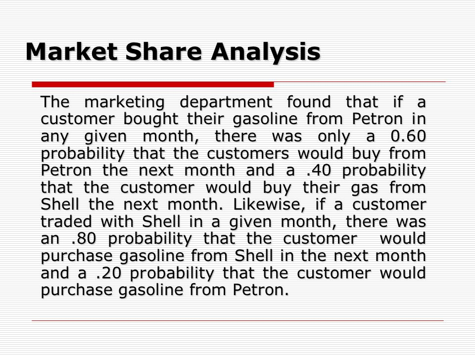 Market Share Analysis