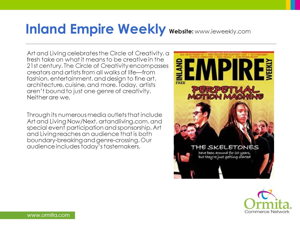 Inland Empire Weekly Website: www.ieweekly.com