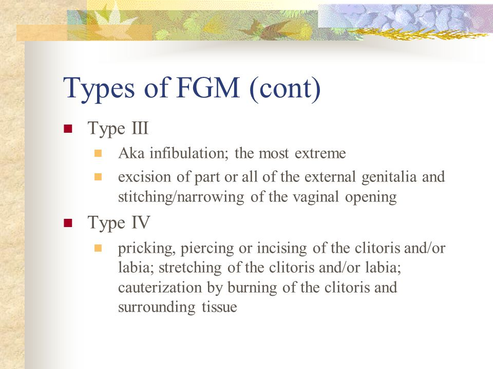 Types of FGM (cont) Type III Type IV