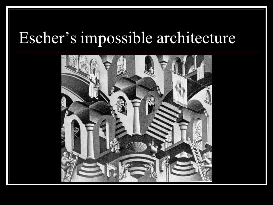 Escher's impossible architecture