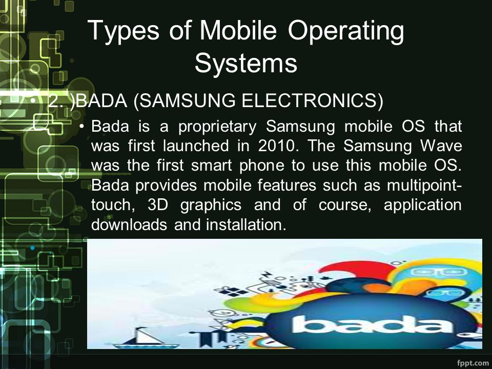 Types of Mobile Operating Systems