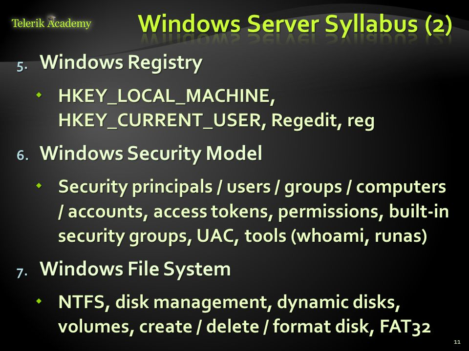 Windows Server Syllabus (2)