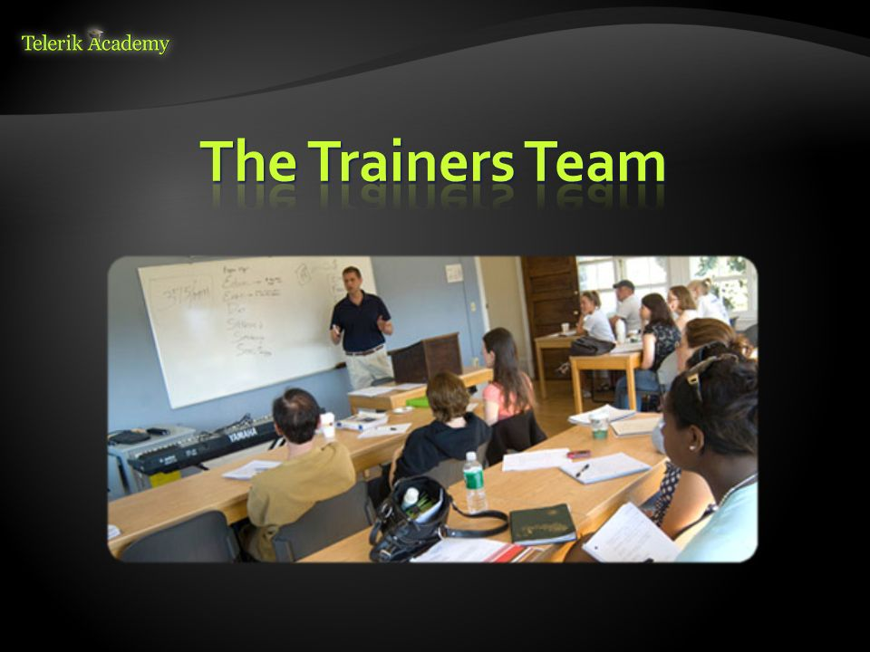 The Trainers Team