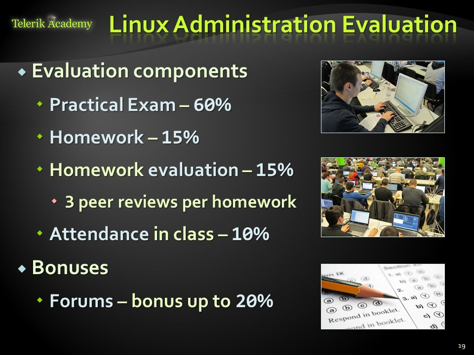 Linux Administration Evaluation