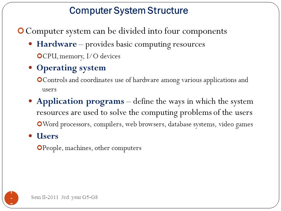 Computer System Structure