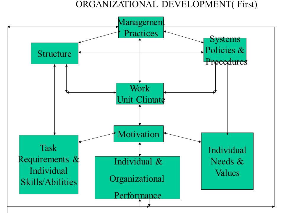 ORGANIZATIONAL DEVELOPMENT( First)