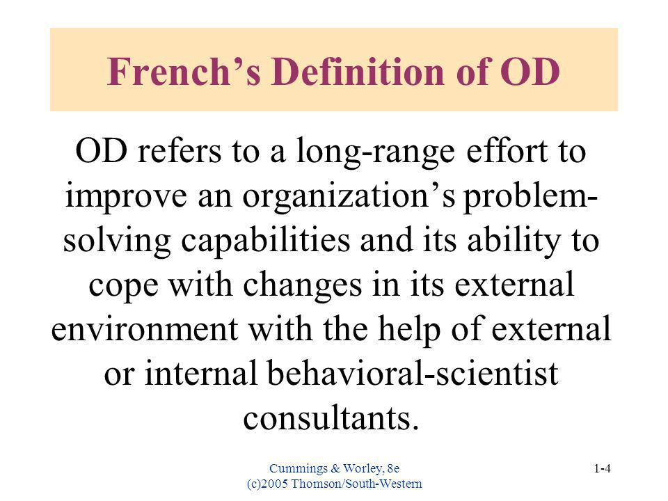 French's Definition of OD