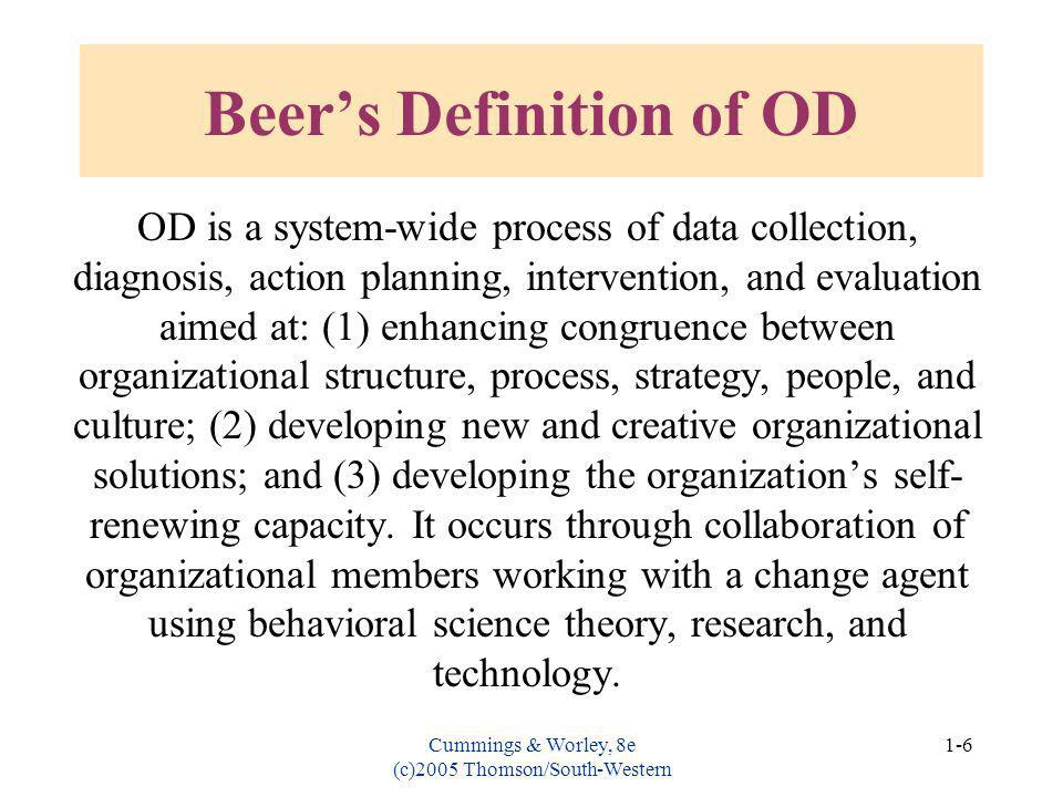 Beer's Definition of OD
