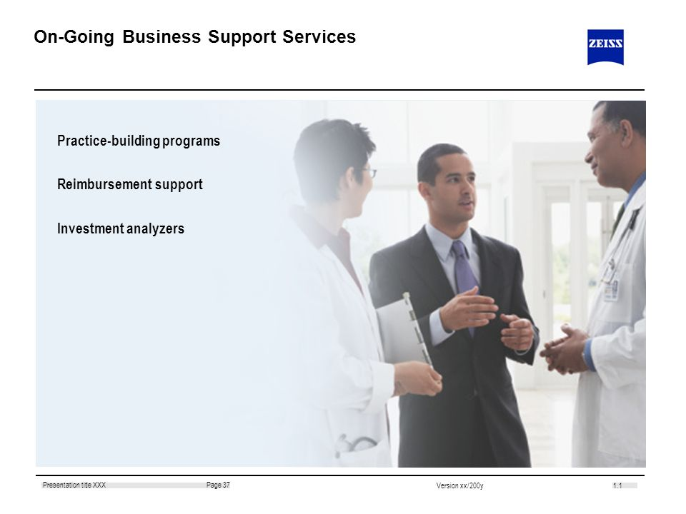 On-Going Business Support Services