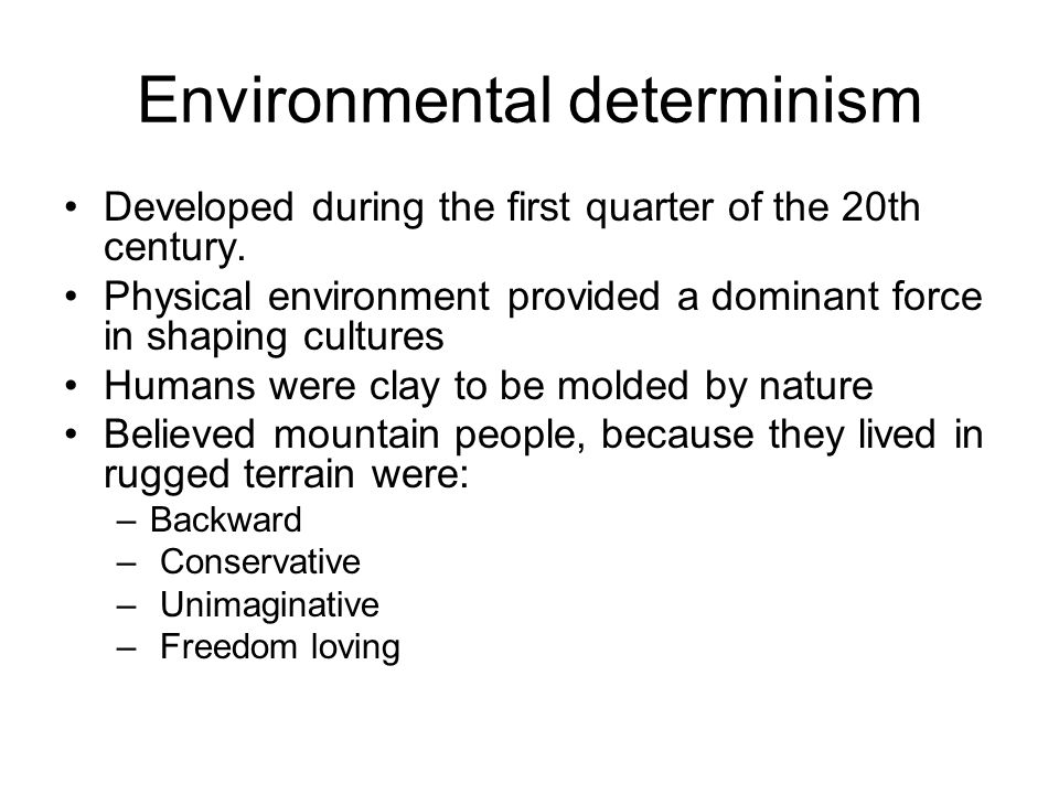 Fear of determinism and nihilism liz beck, amber hager, erica.