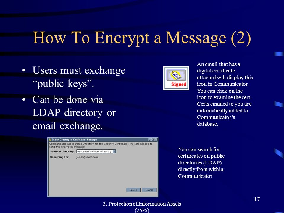 How To Encrypt a Message (2)