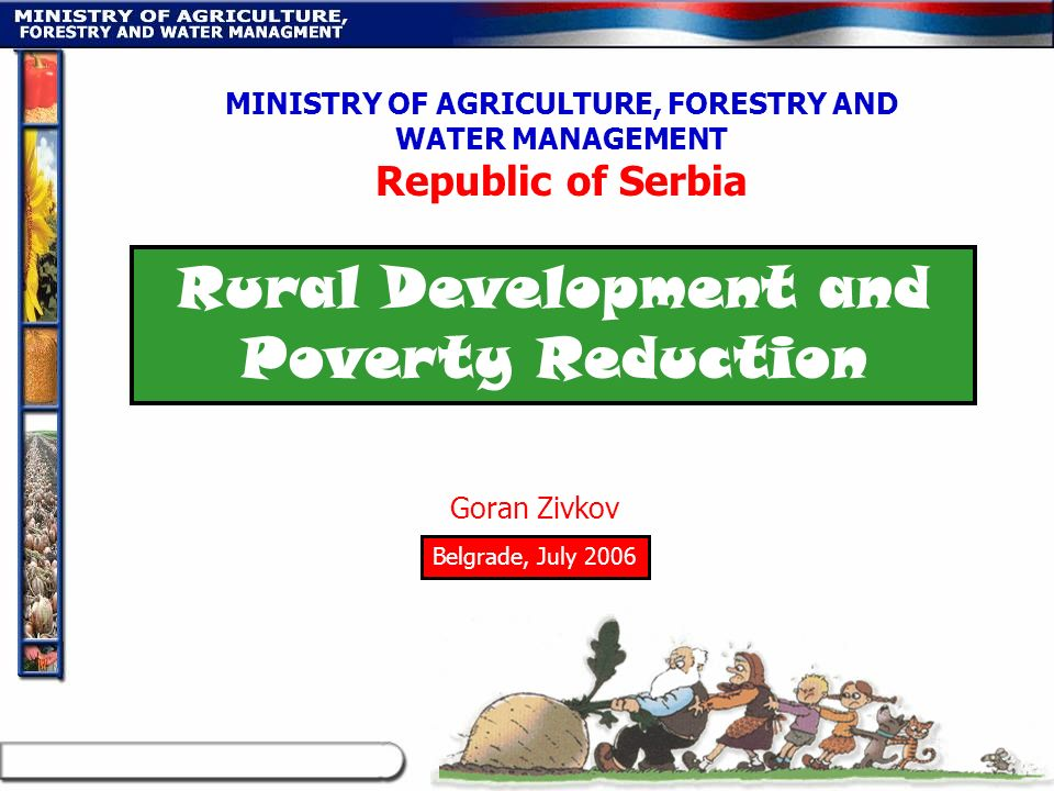 Rural Development and Poverty Reduction