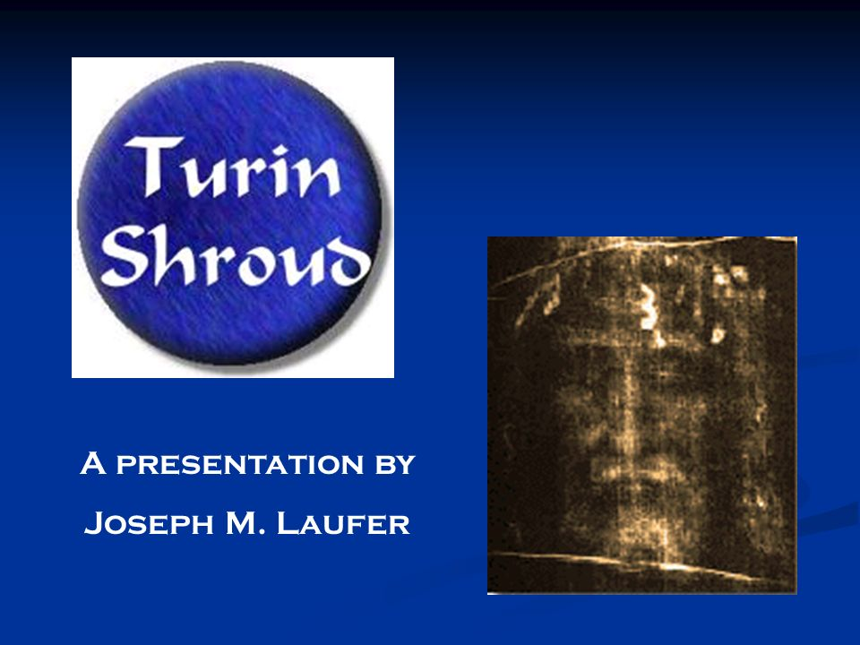 A presentation by Joseph M. Laufer