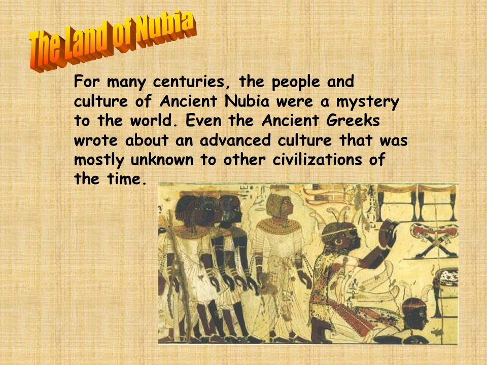 The Land of Nubia