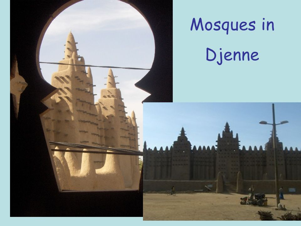 Mosques in Djenne