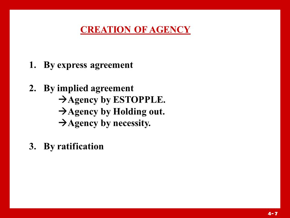 Definition Of Agent And Principal Ppt Video Online Download