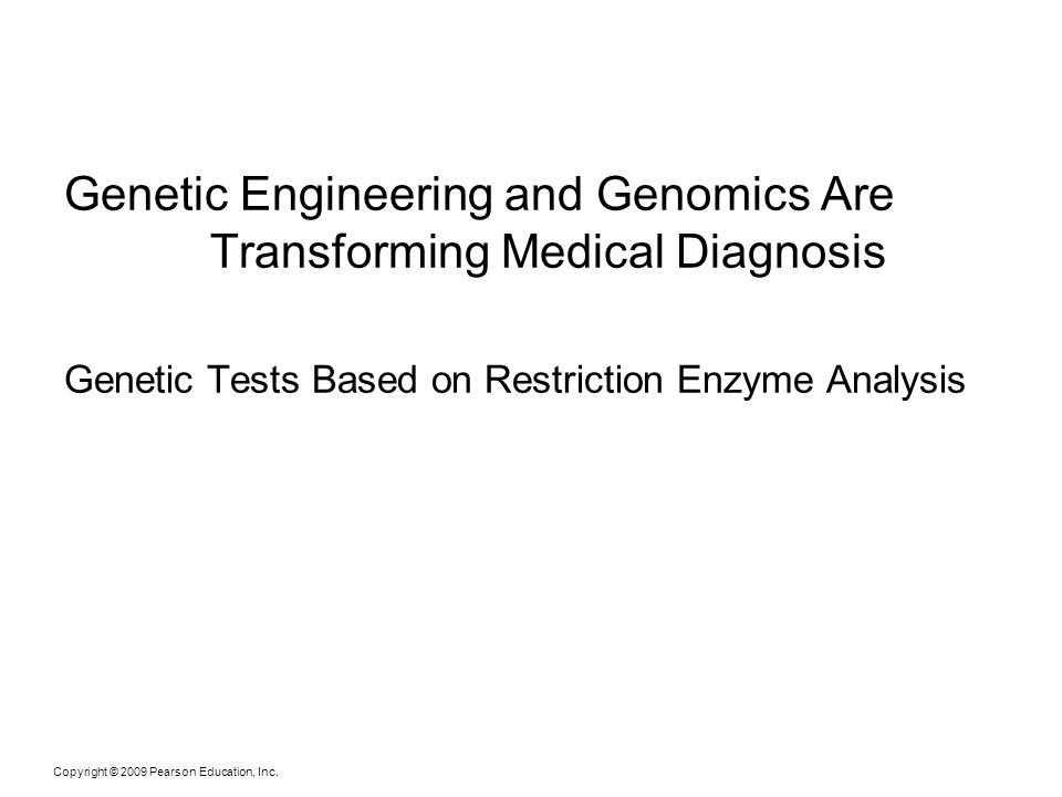 Genetic Engineering and Genomics Are Transforming Medical Diagnosis