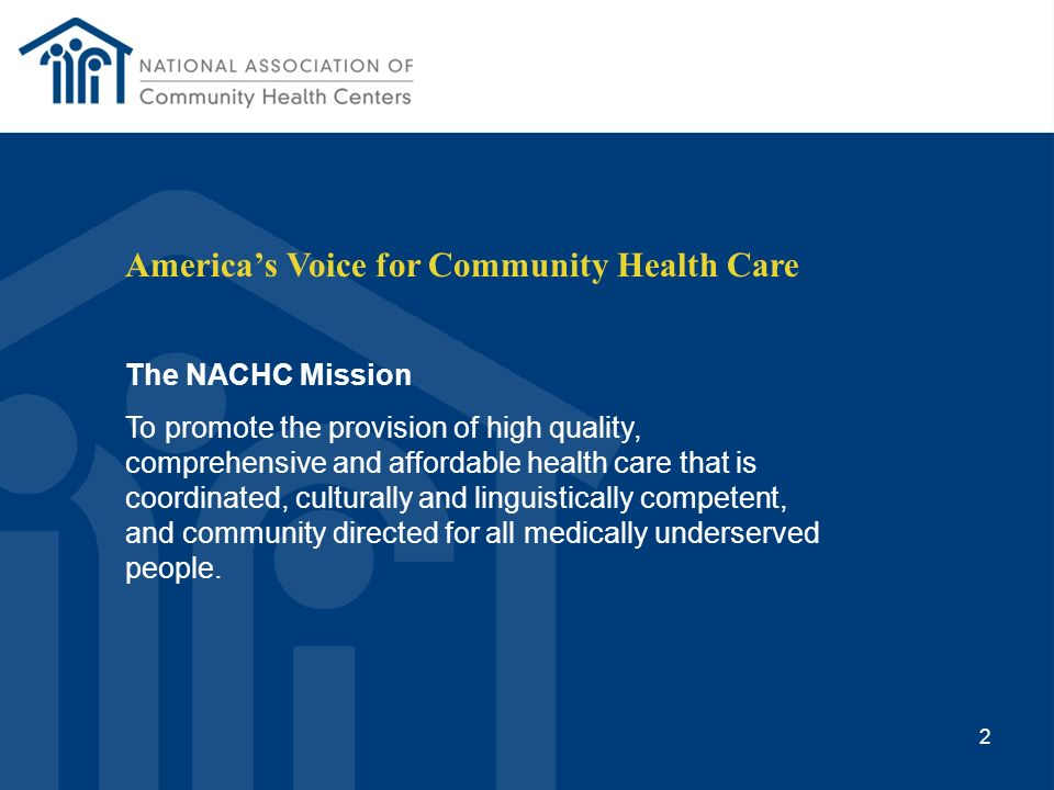 America's Voice for Community Health Care