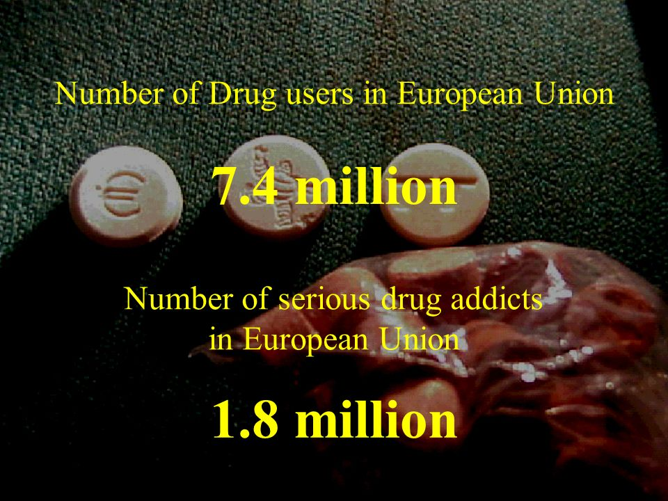 Number of Drug users in European Union