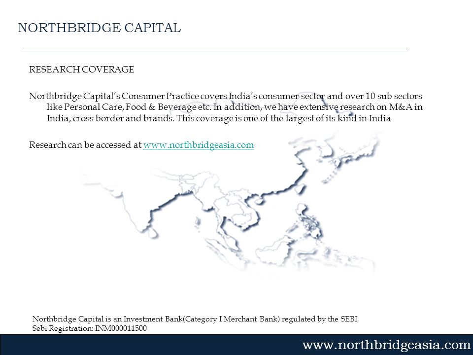 NORTHBRIDGE CAPITAL RESEARCH COVERAGE