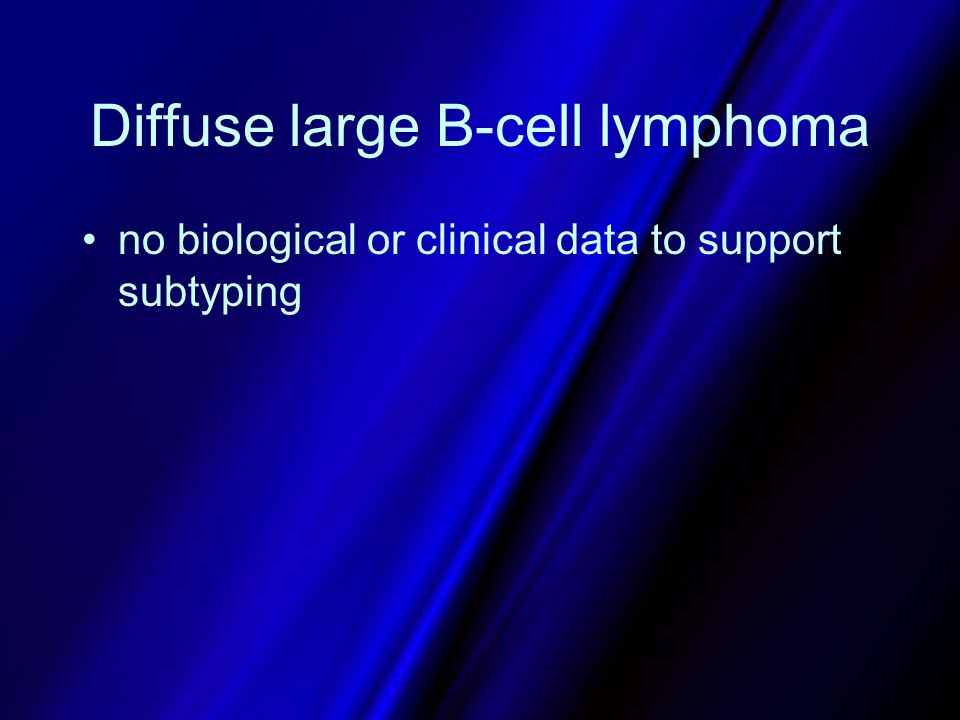Diffuse large B-cell lymphoma
