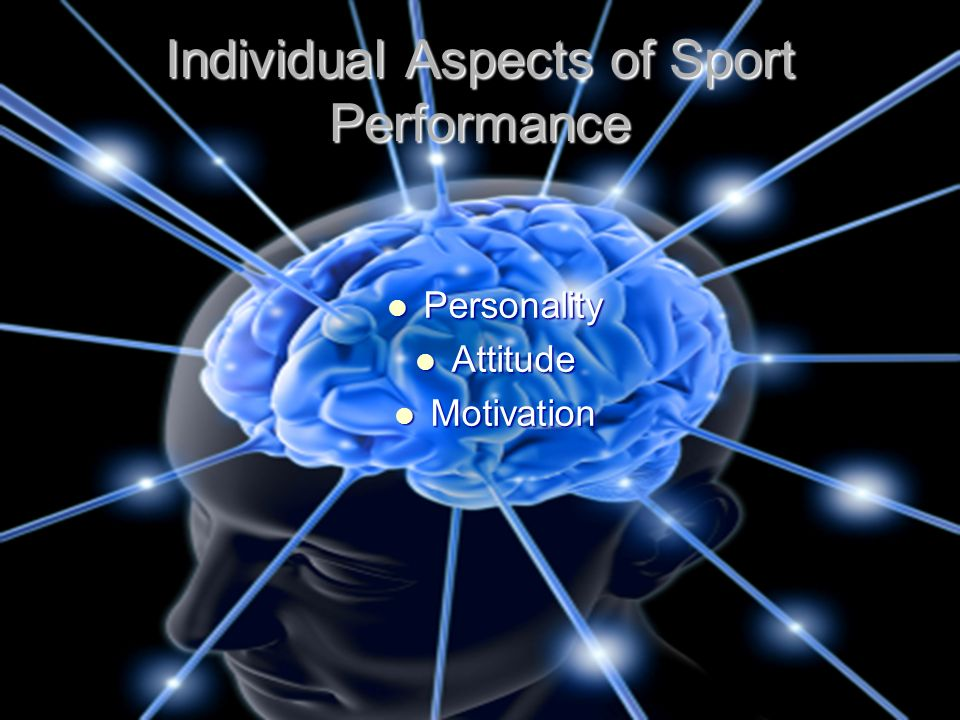 Individual Aspects of Sport Performance