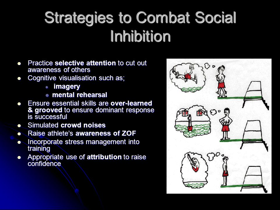 Strategies to Combat Social Inhibition