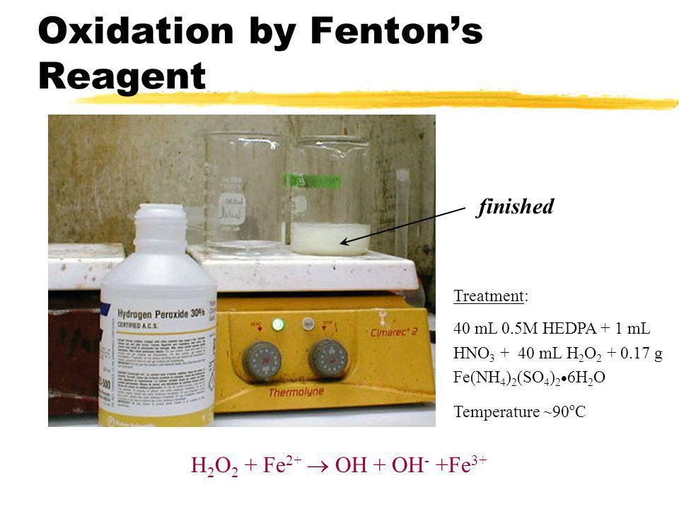 Oxidation by Fenton's Reagent