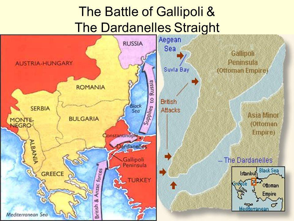 The Battle of Gallipoli & The Dardanelles Straight