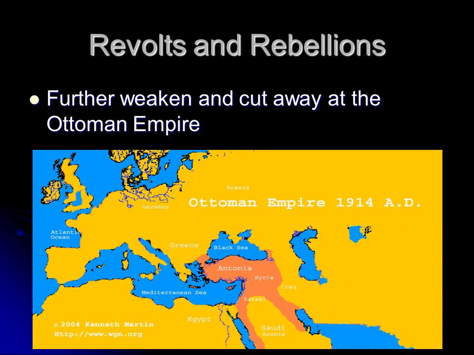 Revolts and Rebellions
