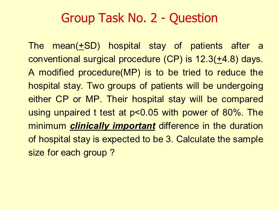 Group Task No. 2 - Question