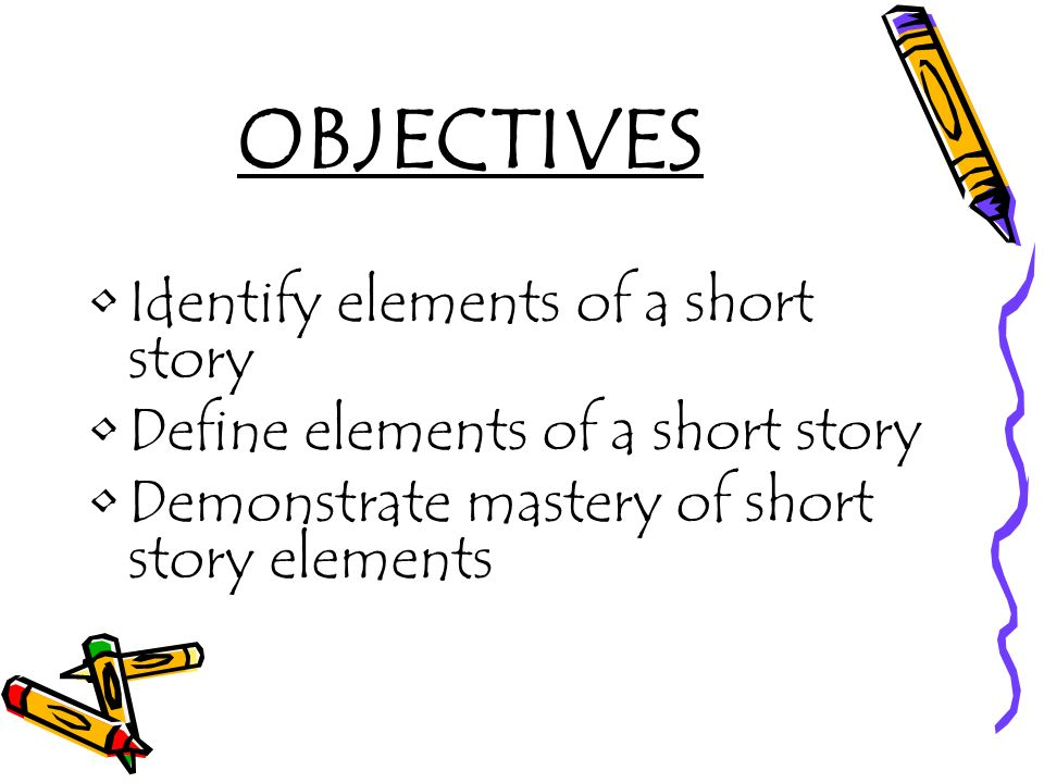 short story with elements of the story
