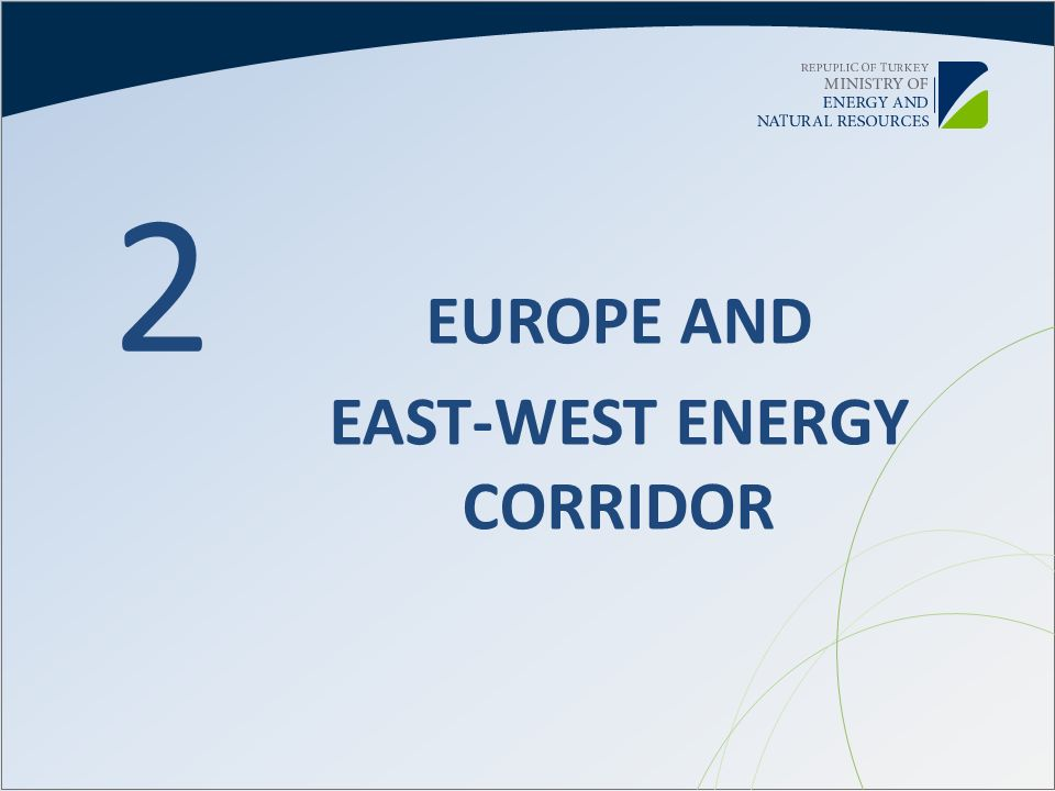 EAST-WEST ENERGY CORRIDOR