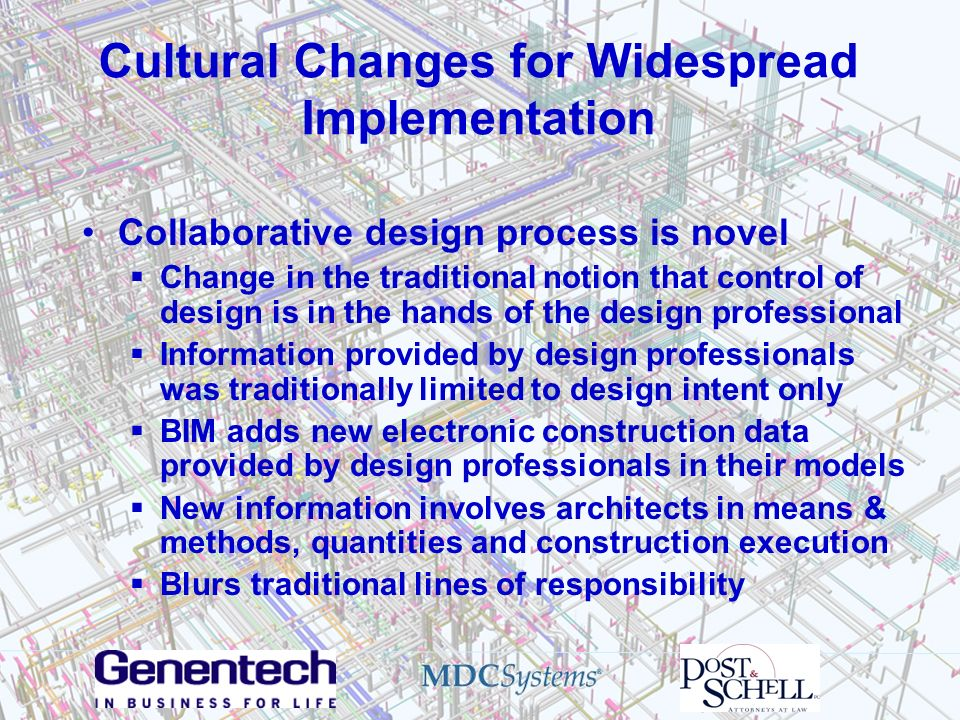 Cultural Changes for Widespread Implementation