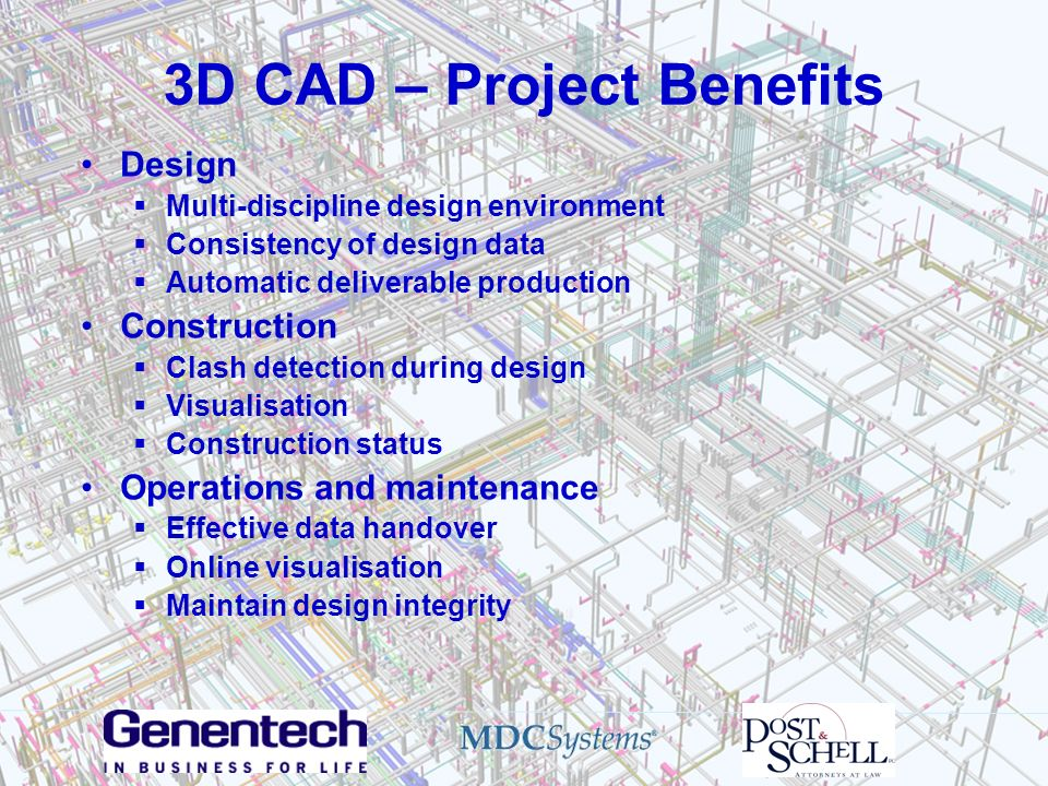 3D CAD – Project Benefits