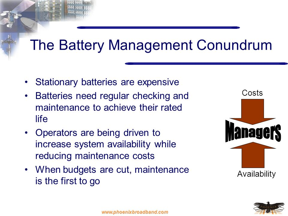 The Battery Management Conundrum
