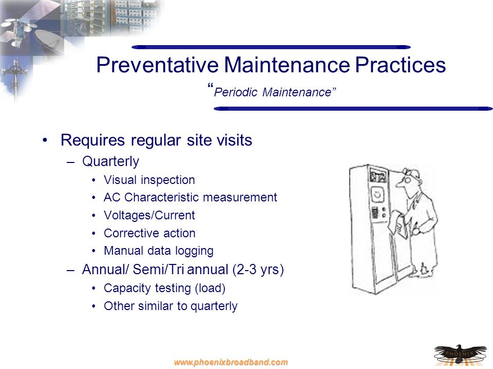 Preventative Maintenance Practices Periodic Maintenance