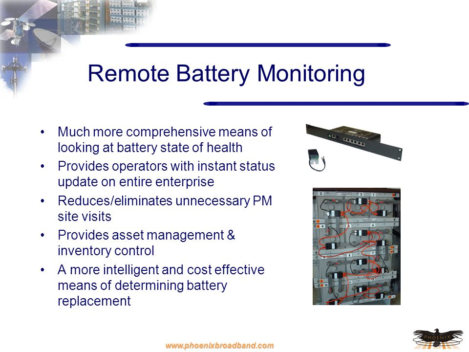 Remote Battery Monitoring