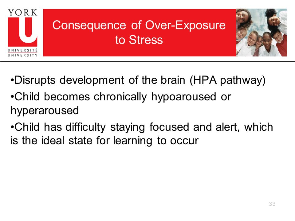 Consequence of Over-Exposure to Stress