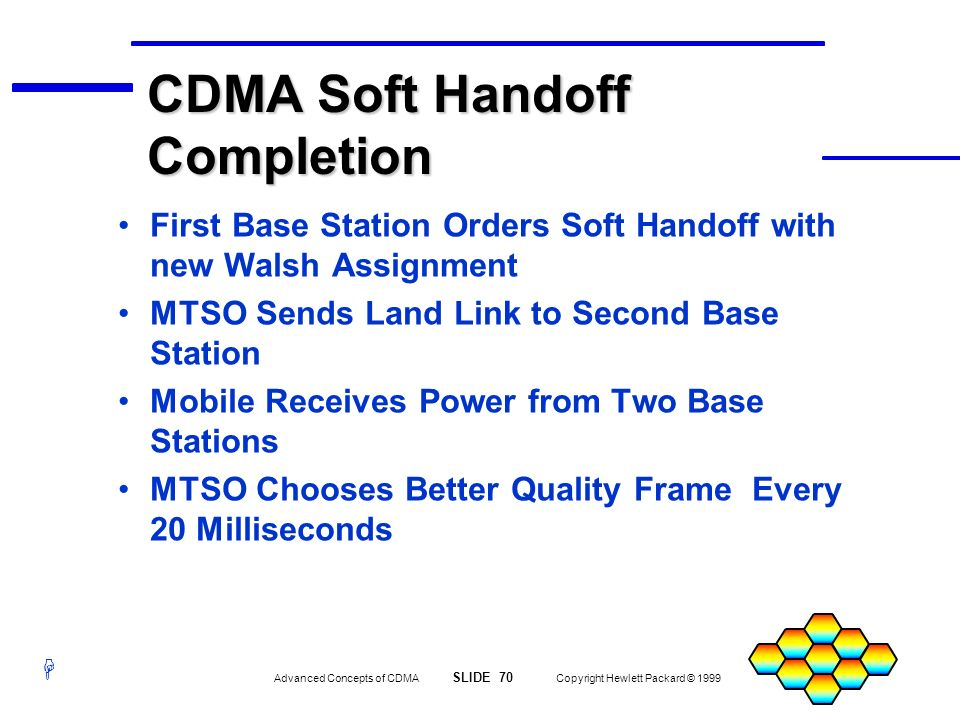 CDMA Soft Handoff Completion